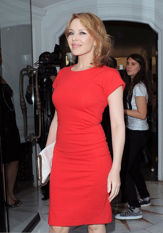Kylie Minogue Is Radiant In Red » Gossip | Kylie Minogue