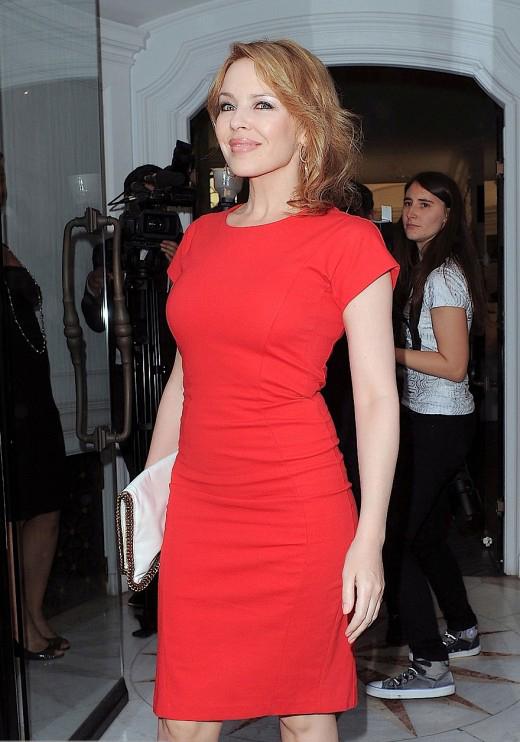 Kylie Minogue Is Radiant In Red » Gossip | Kylie Minogue