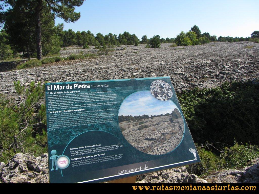 Ciudad Encantada: Mar de Piedra
