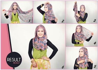 Ladies, Ini Dia Tutorial Hijab Untuk Santai Mudah Dipraktekkan