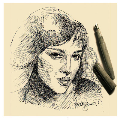 Monica Bellucci Face