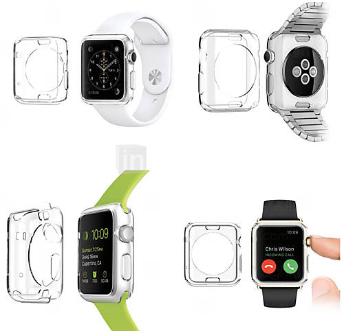 coque apple watch transparent speciale