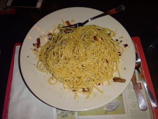 jantar no the old spaghetti factory