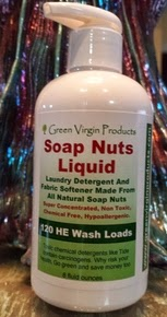 Review of Liquid Soap Nuts by Green Virgin Products