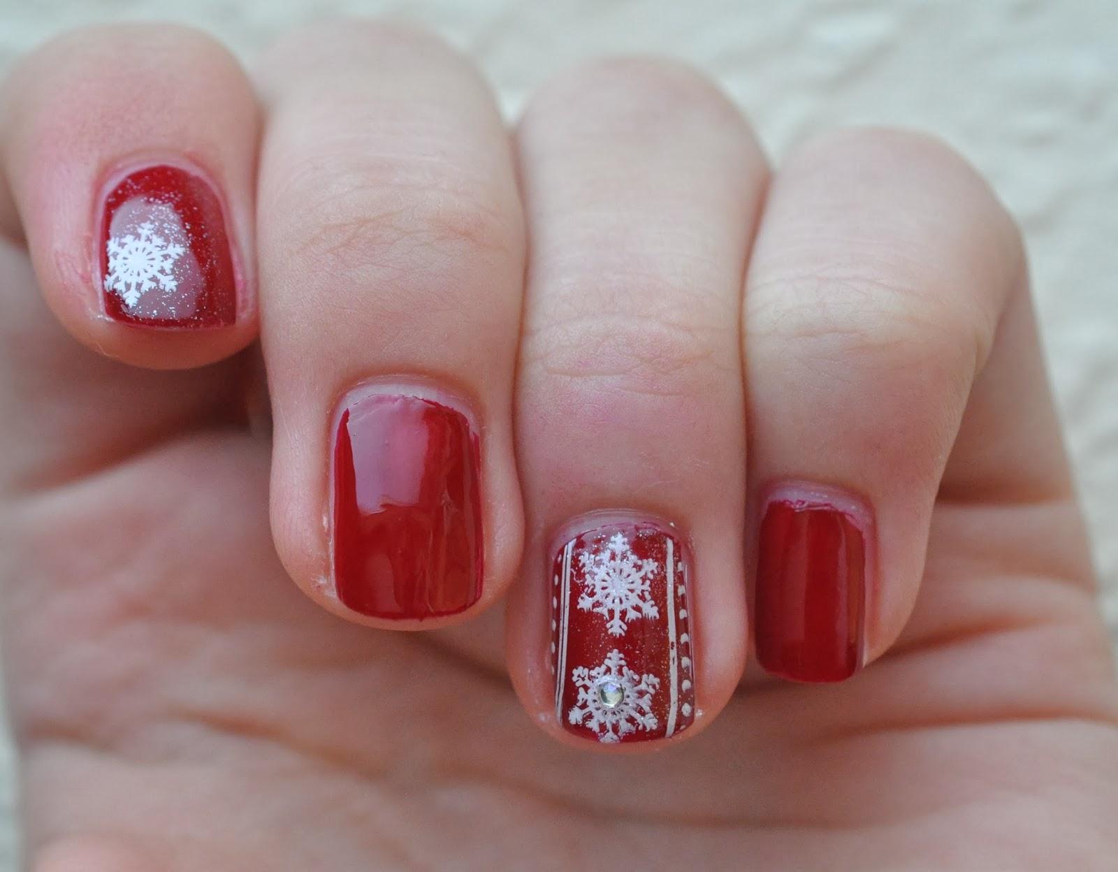 Sympathisch Weihnachts Nägel Rot Dekoration Von Wären Das Weihnachtsnägel Für Euch, Die Ihr