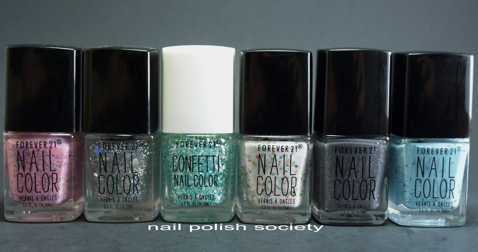 Nail Polish Society: Forever 21 Love & Beauty Nail Polish Swatches ...