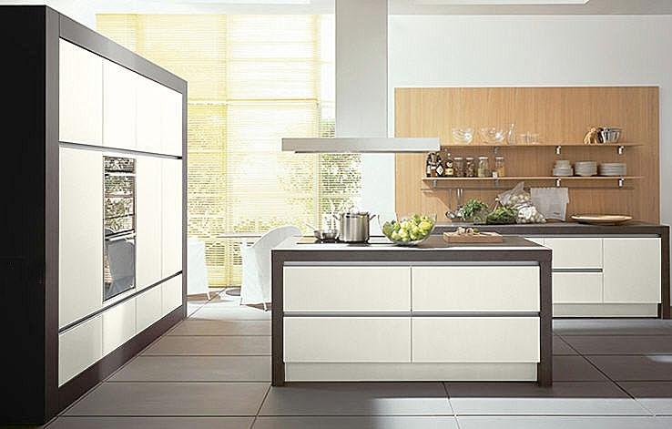 Decora y disena cocinas modernas fotos for Cocinas grandes modernas
