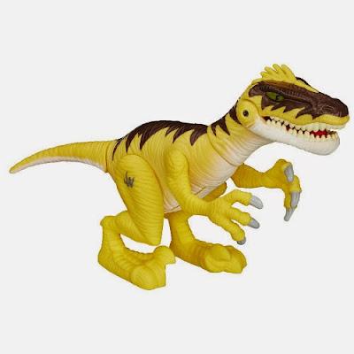 Playskool Heroes : Jurassic World  Velociraptor | Dinosaurio | Figura - Muñeco