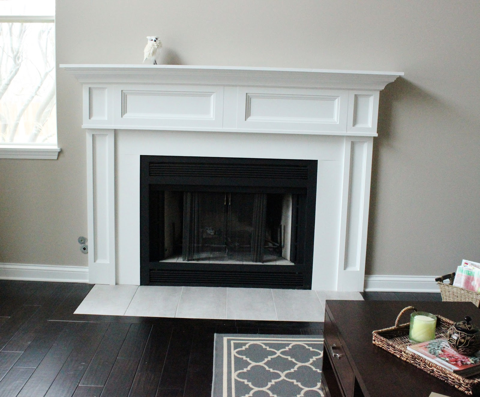 Fireplace Remodel The Before The Happily Ever After Delightfully Noted