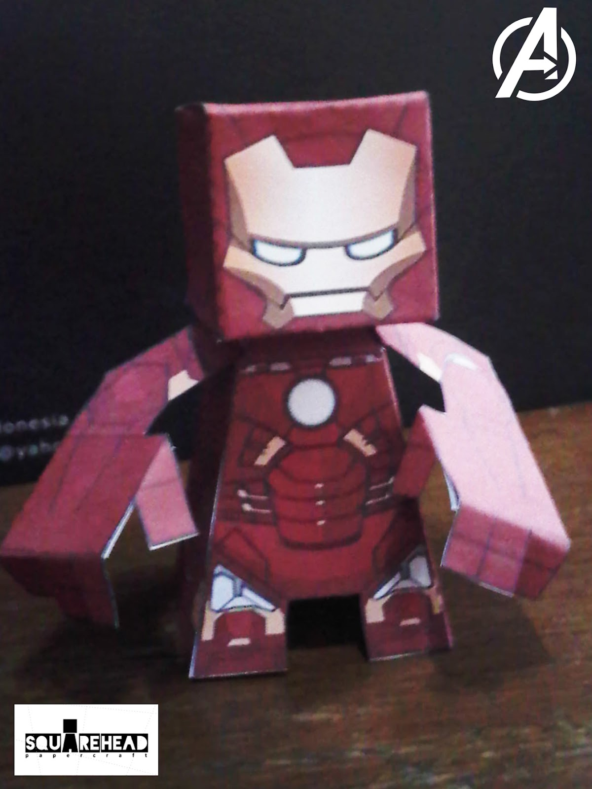 Papercraft: Iron Man mark VII : The Avengers Movie Version Papercraft