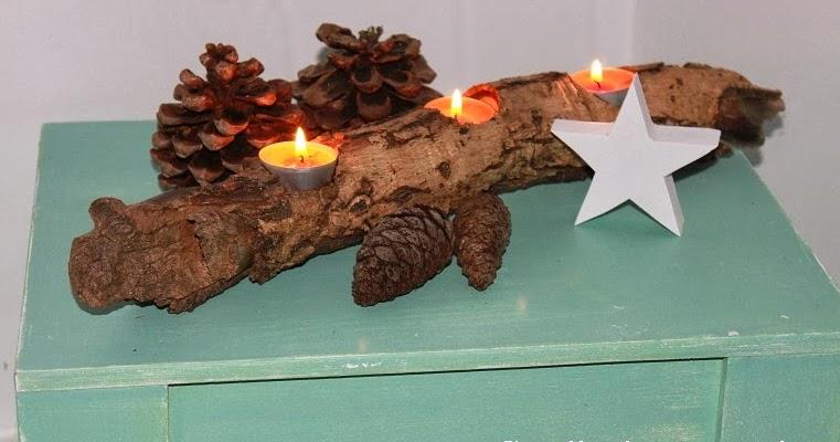 Tu mejor sonrisa en cualquier ocasi n decora con velas y estrellas esta navidad - Adornos navidenos de madera ...