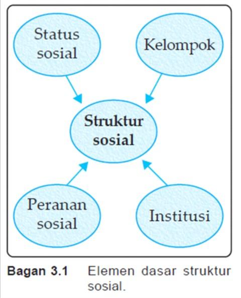 Struktur sosial ss belajar elemen dasar struktur sosial ccuart Choice Image