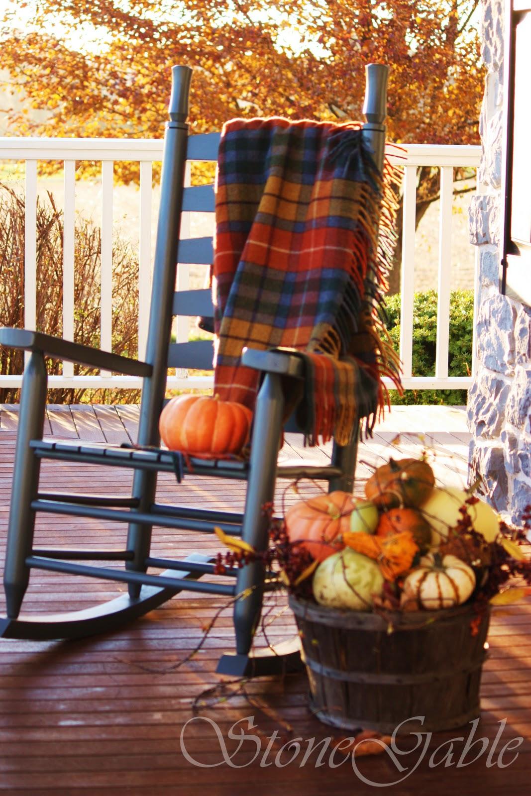tartans on the porch stonegable