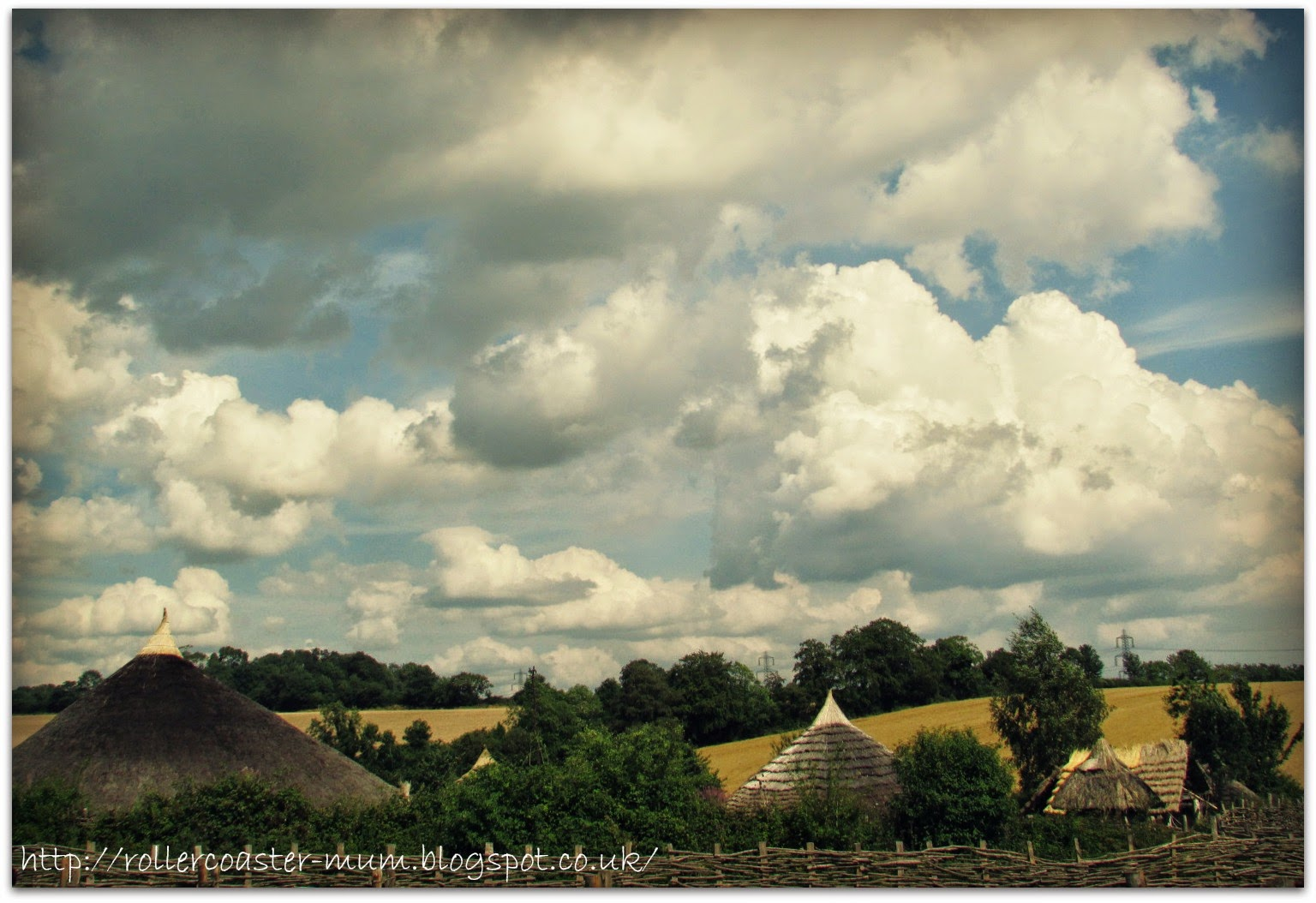 Iron Age village at Butser Hill Ancient Farm