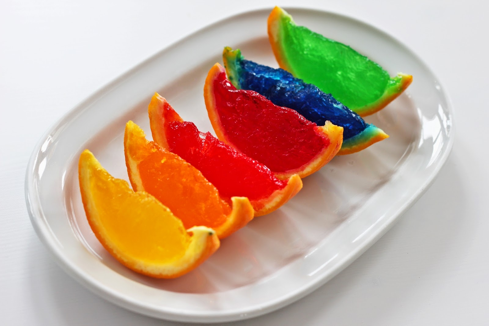 Rainbow Orange Jello Shots   Fashion Kitchen   Bloglovin\'