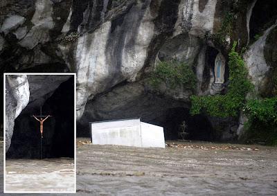 Inundaciones y Muertos en Lourdes. Donde estaba Dios?