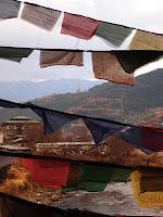 Buddha point from the wooden bridge - Thimphu