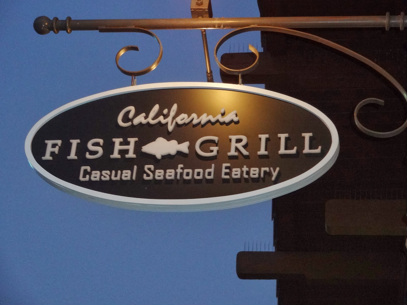 Eating my way through oc casting our line at california for California fish and grill