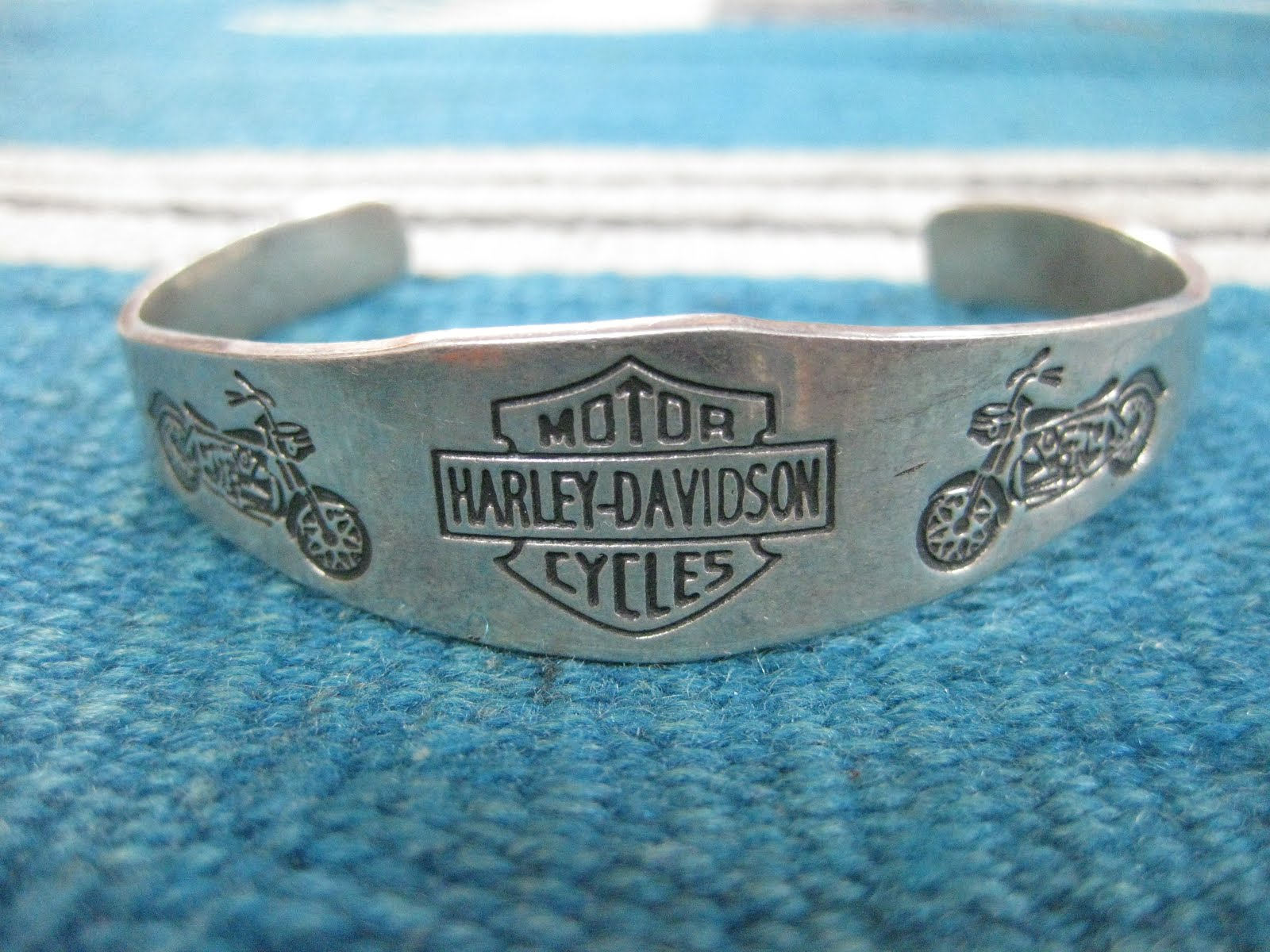 60's~                「HARLEY-DAVIDSON」                SILVER BANGLE