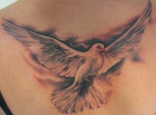 Holy Spirit Tattoos For Women dove tattoo designs ~ ...