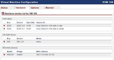 Daftar hardware virtual machine