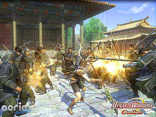 Download Free Action Games - Dynasty Warriors Online