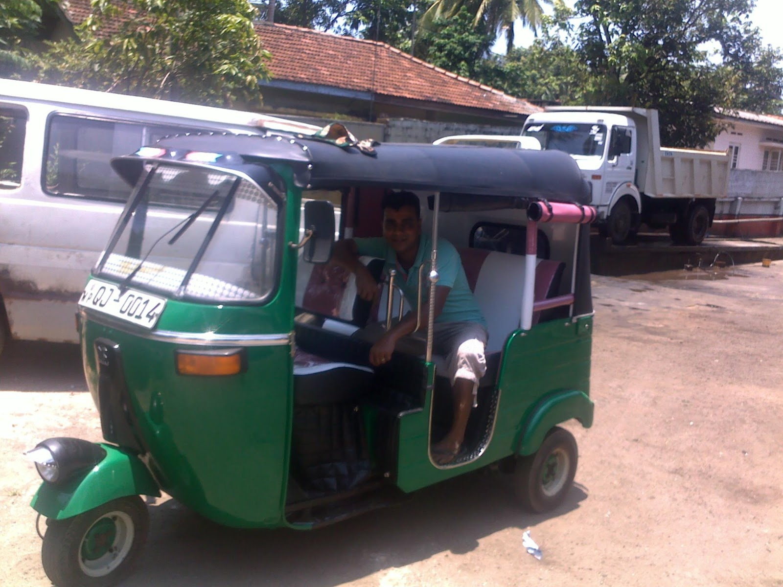 Prasad tuk tuk au Sri Lanka