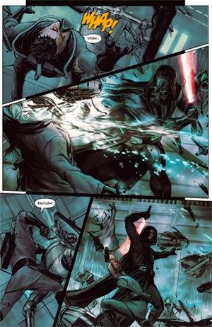 """Agustin Alessio dibuja el cómic """"Star Wars: Darth Vader y la Prisión Fantasma"""""""