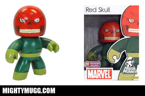 Red Skull Marvel Mighty Muggs Exclusives - Mightymugg.com