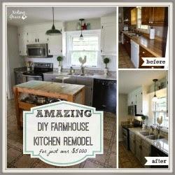 $5000 Farmhouse Kitchen Remodel on Noting Grace