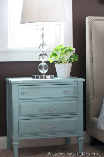 White House Blue Diy Distressed Blue Furniture