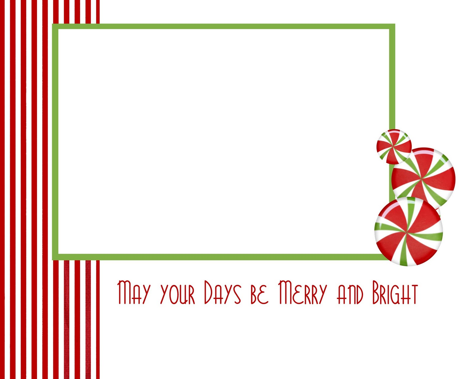 Bewitching image for printable christmas cards templates
