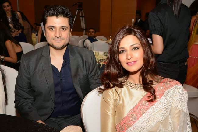 Godie Behl and Sonali Bendre at Men for Mijwan charity fashion show