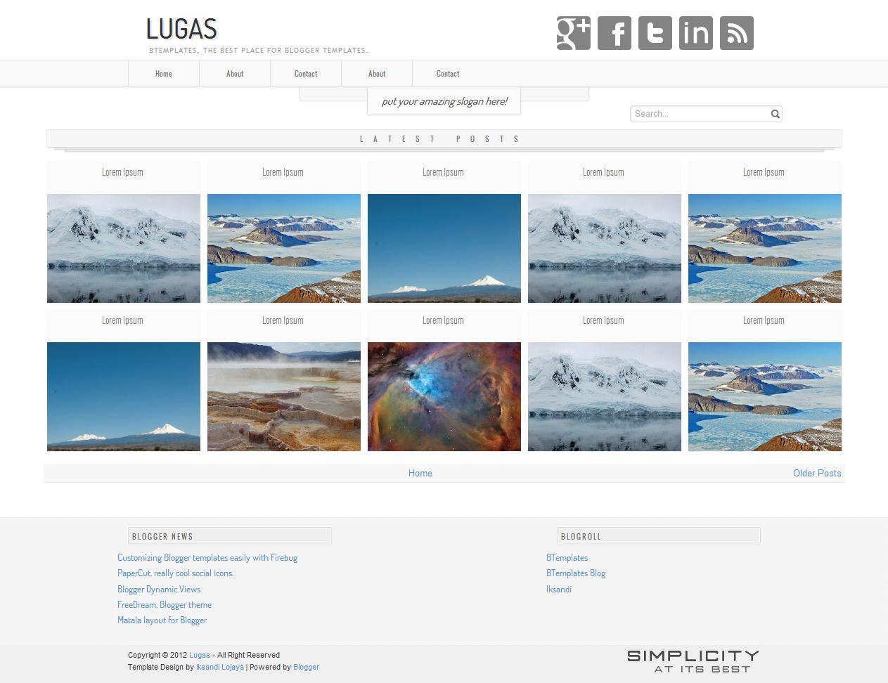 Maknyus Download 7 Template Blogger Wallpaper Masirawann