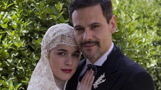 Roberto Enríquez y Adriana Ugarte, la señora, tve