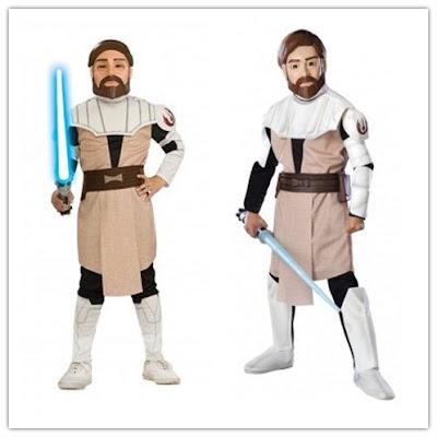 Déguisement Star Wars jedi Obi-Wan Kenobi enfant