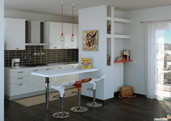 Separar una cocina de la sala colores en casa for Sala de estar y cocina