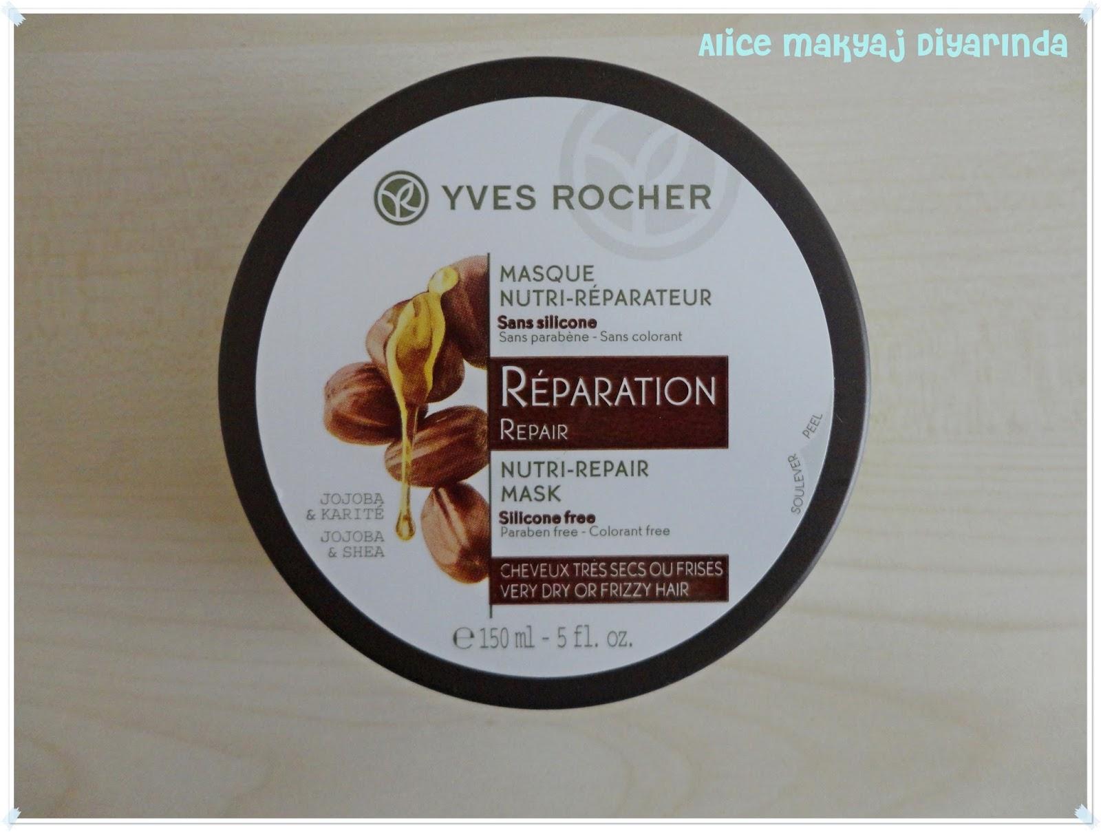 Yves Rocher Yıpranmış Saçlar İçin Onarıcı Saç Maskesi