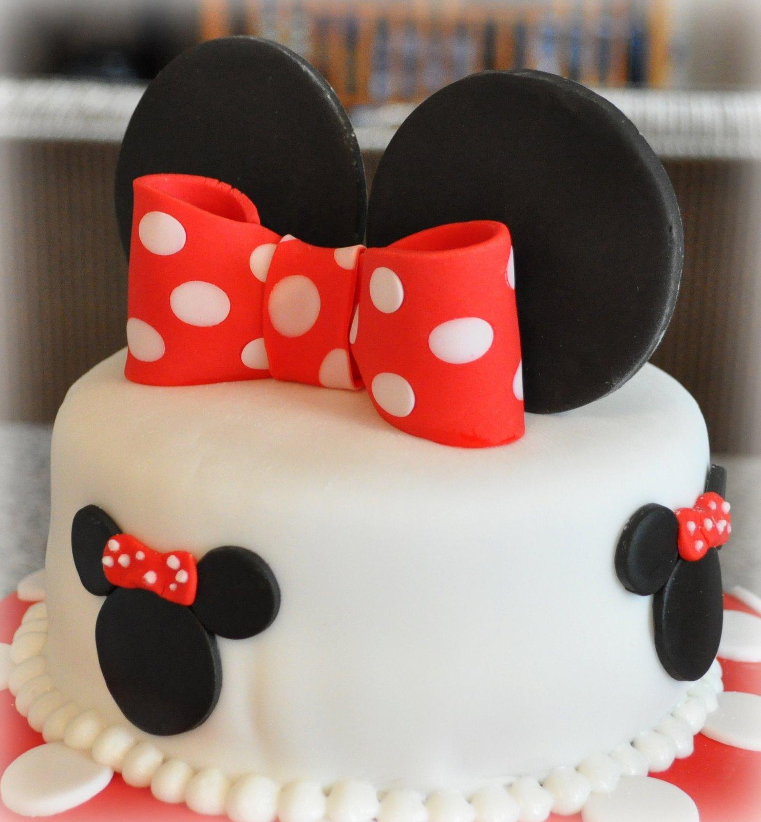 Just Being Judy 2 Tier Minnie Cake