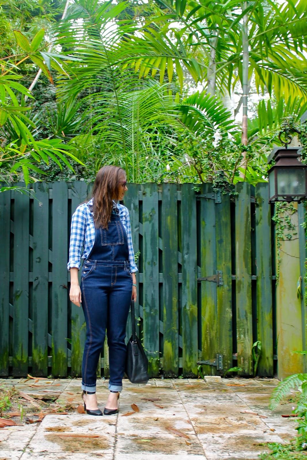 AGAPE Boutique, Abercrombie & Fitch, Kate Spade, Ray-Ban, overalls, fall fashion, winter fashion, outfit idea, Nine West, Miami fashion blogger, Miami fashion, fashion blogger, style blog