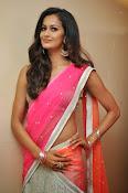 Shubra Aiyappa glamorous in half saree-thumbnail-7