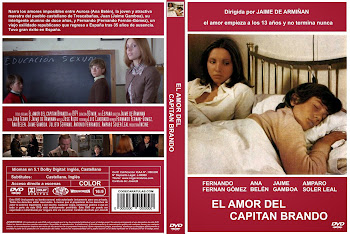 Carátula dvd: El amor del capitán Brando (1974)
