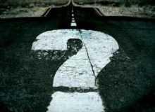 estrada interrogação dúvida