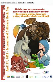 2012 Nazioarteko Haur Literaturaren Egunaren kartela