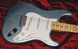 Fender CS Closet Classic '66 Silver Firemist