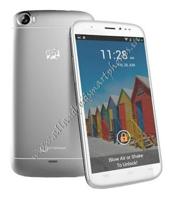 Micromax A240 Canvas Doodle 2 Dual Sim 3G Phablet Image & Photo Review