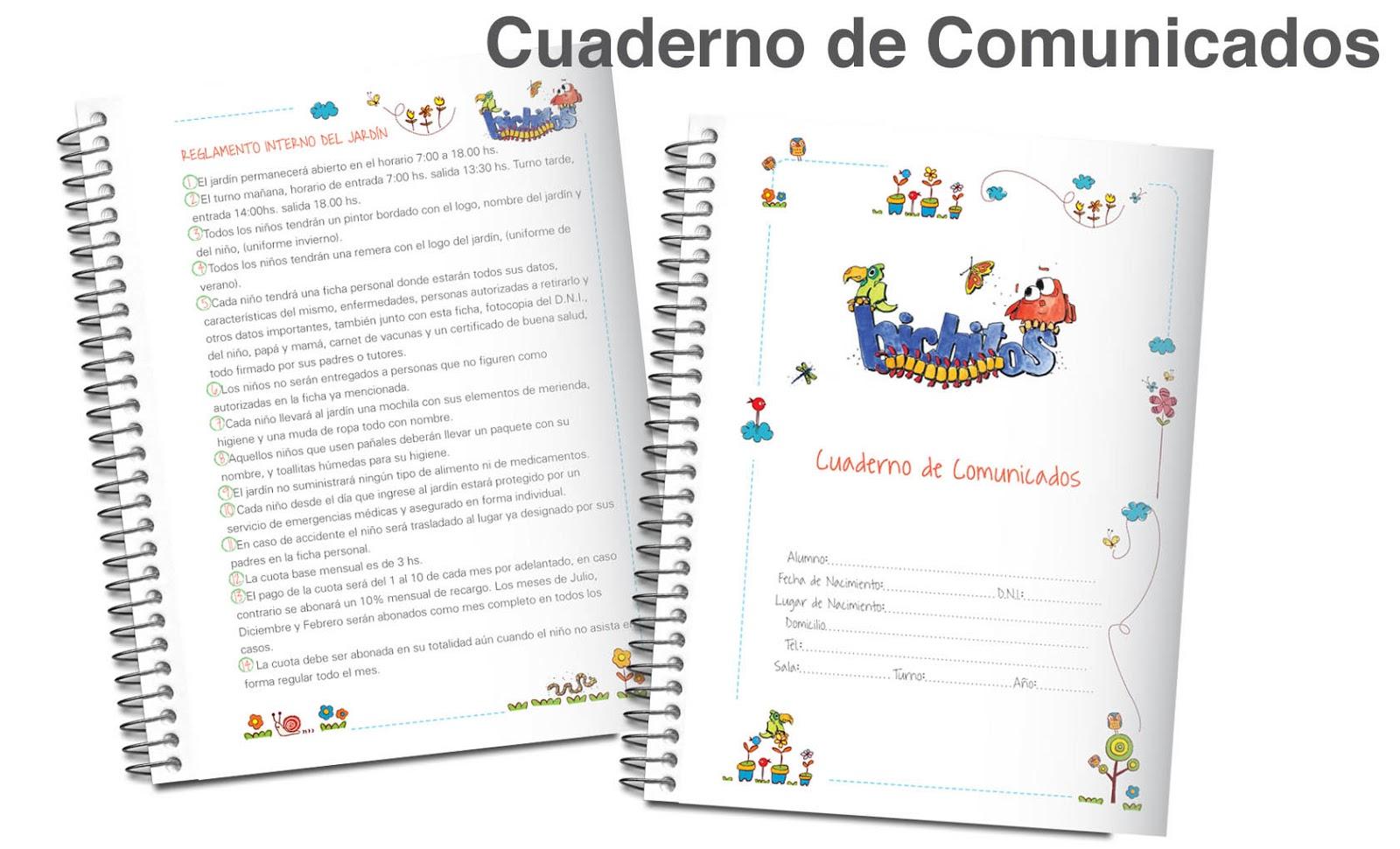 CAROLINA RICCHINI: Papelería para jardines de infantes 2013