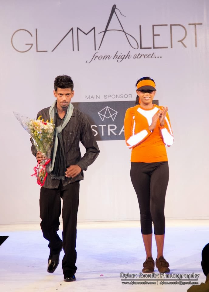 GLAMALERT from high street fashion show
