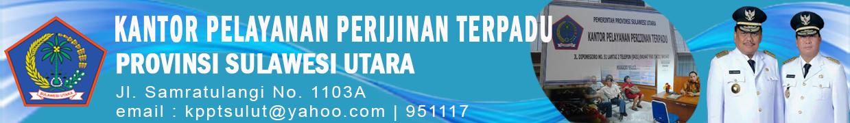 Kantor Pelayanan Perijinan Terpadu Provinsi Sulawesi Utara