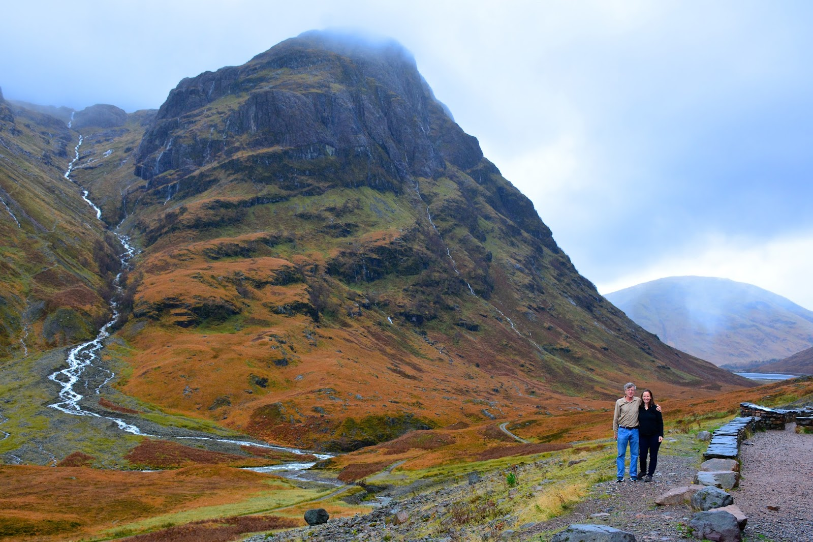one of the Three Sisters of Glencoe
